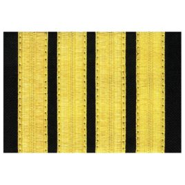 Pilot Epaulets – 4 Bar Gold/Black
